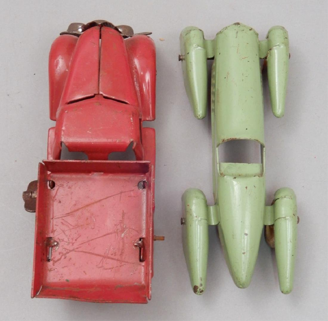 Two pressed steel cars - 3