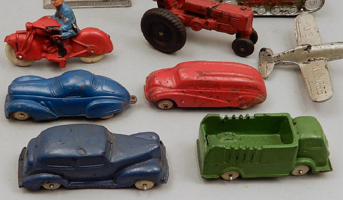 Collection of cast iron and rubber vehicles - 2