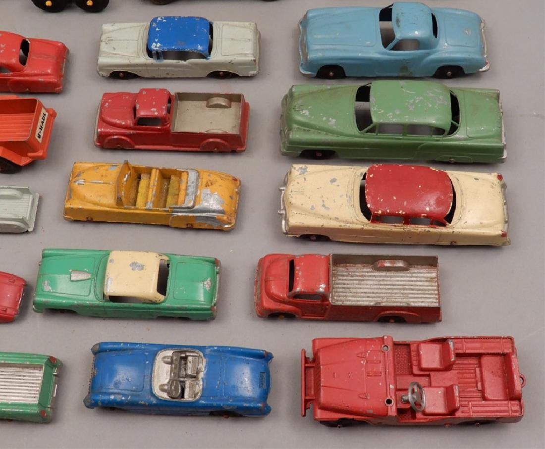 Grouping of diecast vehicles, and plastic vehicles - 2