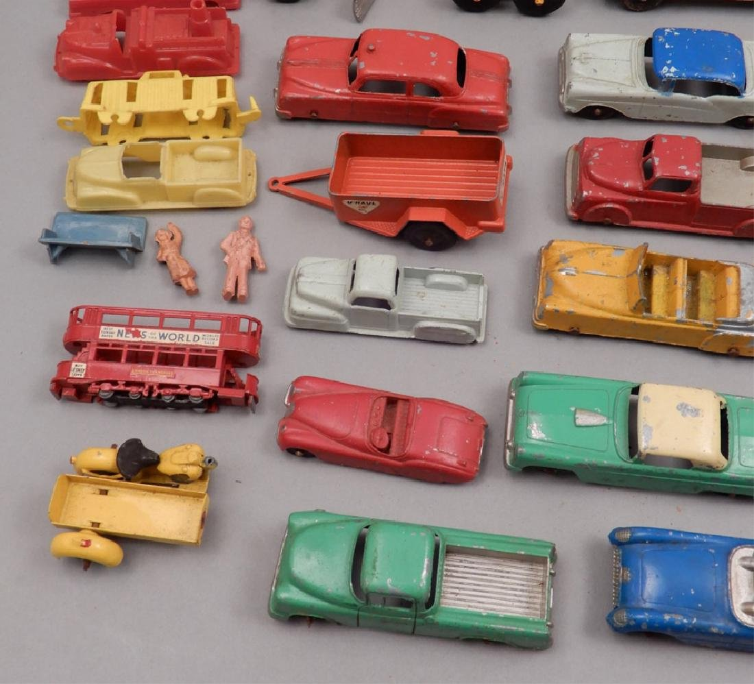 Grouping of diecast vehicles, and plastic vehicles - 3
