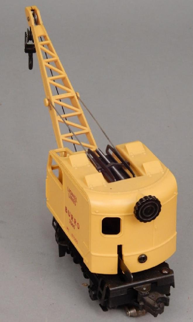 Lionel No. 3360 Operating Burro Crane in original box - 4