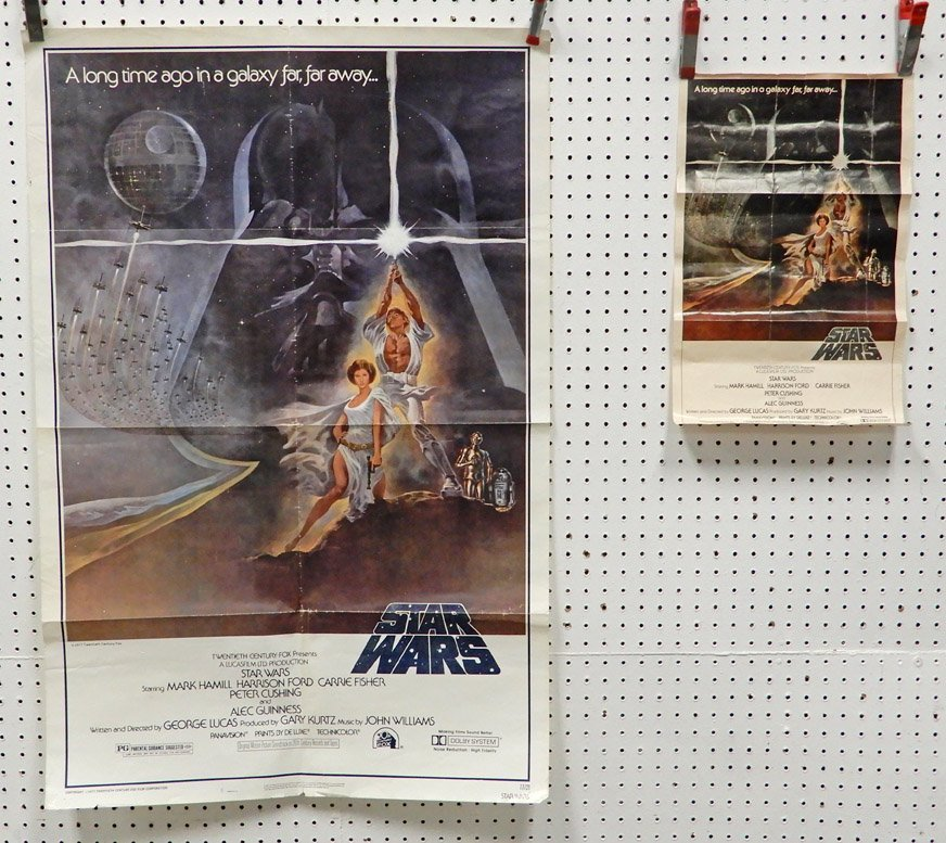 Two Star Wars 20th Century Fox 1977 posters