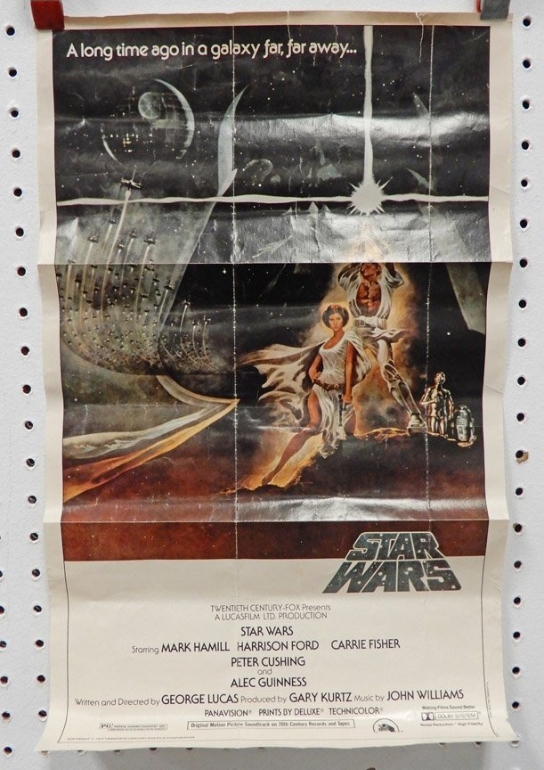 Two Star Wars 20th Century Fox 1977 posters - 2
