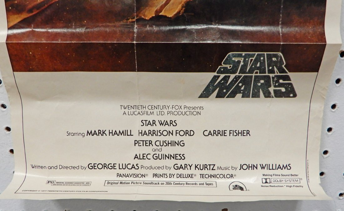 Two Star Wars 20th Century Fox 1977 posters - 3