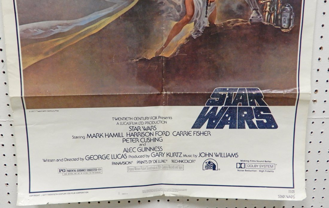 Two Star Wars 20th Century Fox 1977 posters - 7