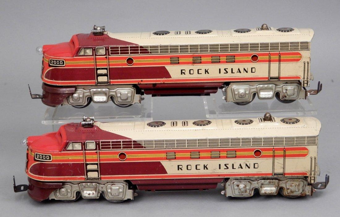Rock Island diesel units by Unique Art