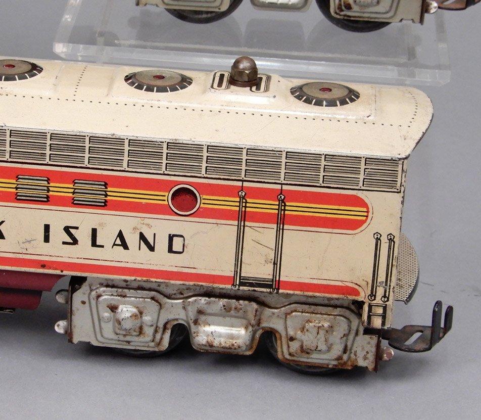 Rock Island diesel units by Unique Art - 3