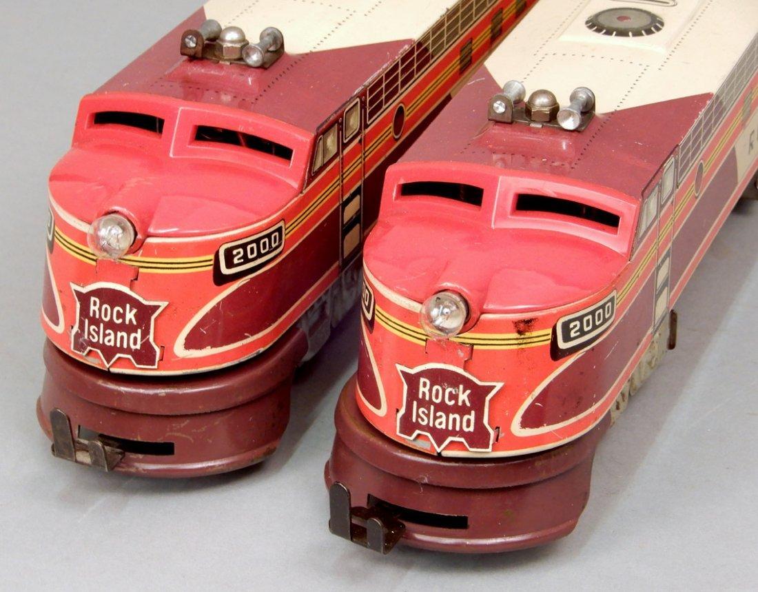 Rock Island diesel units by Unique Art - 4