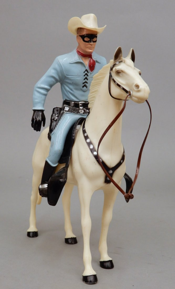 Collection of Hartland figurines and horses - 4