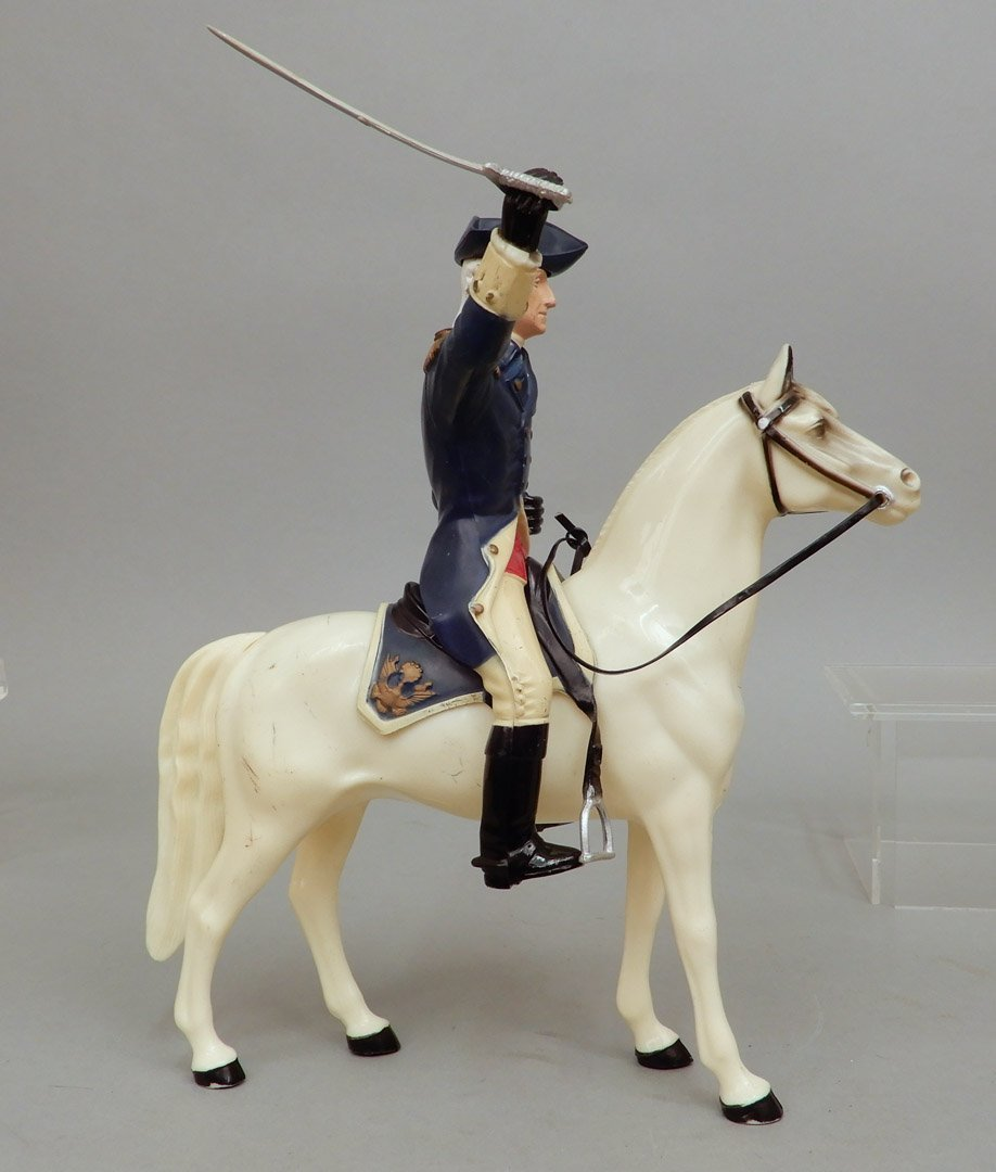 Collection of Hartland figurines and horses - 5