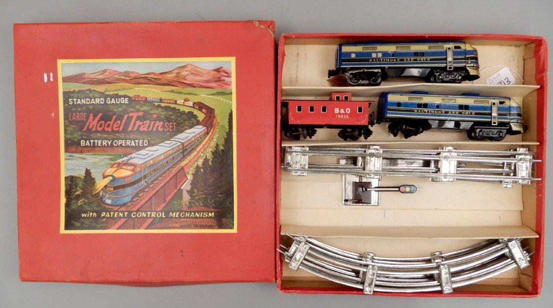 Battery Operated Model Train Set in original box