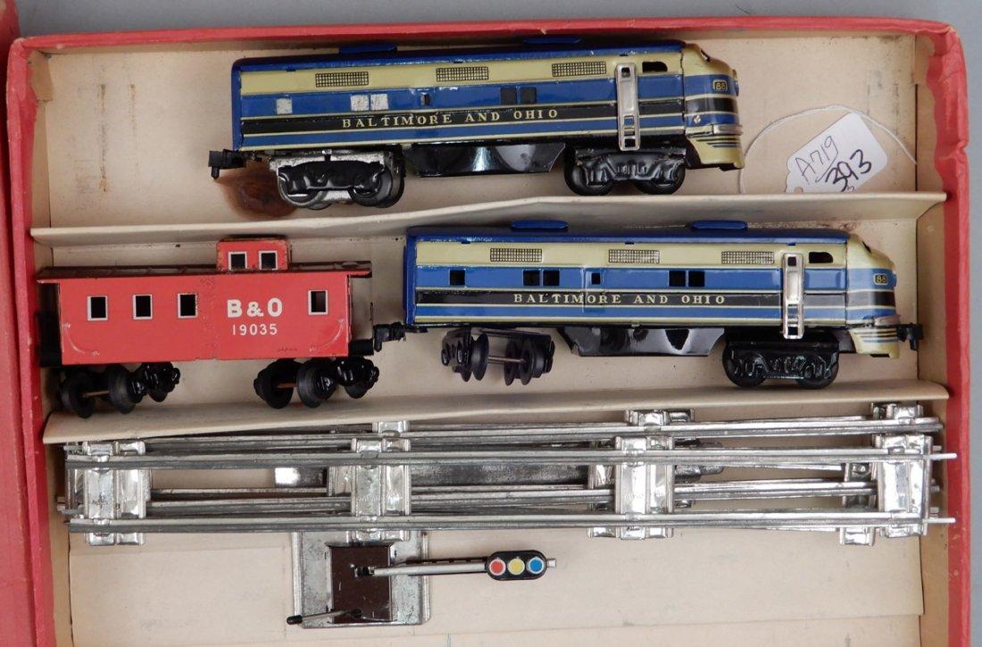 Battery Operated Model Train Set in original box - 2