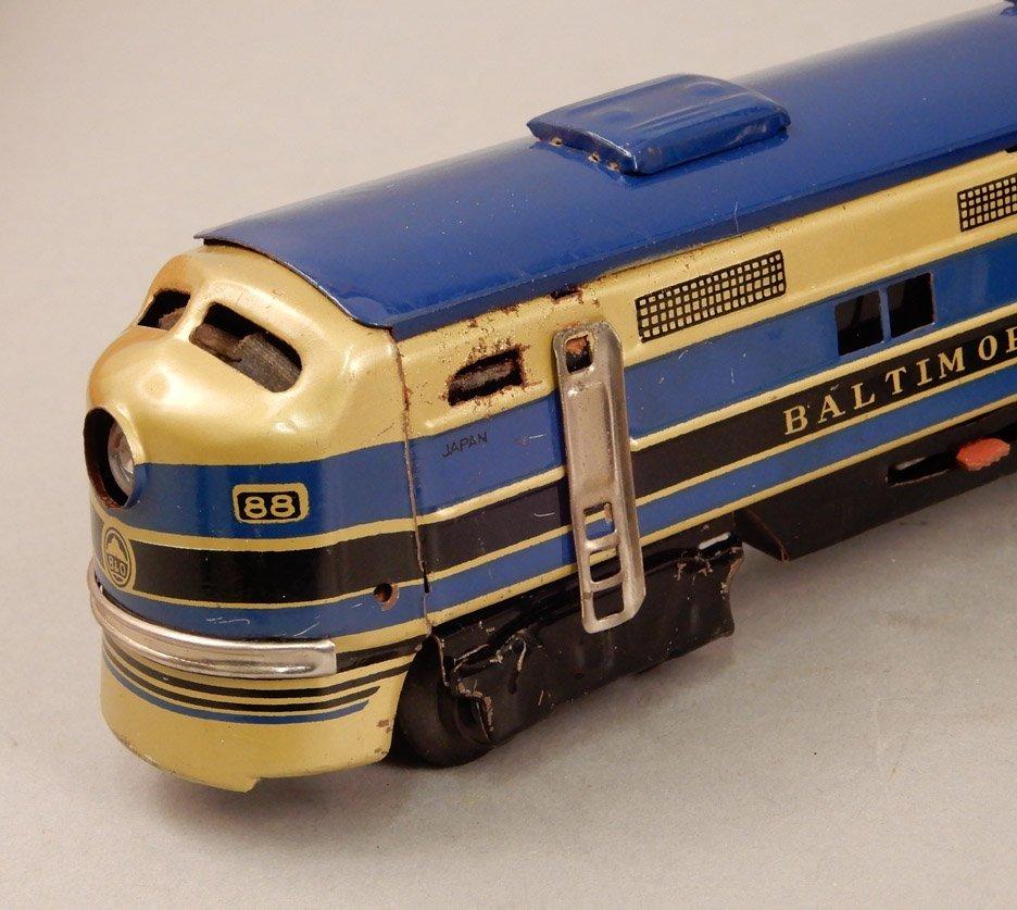 Battery Operated Model Train Set in original box - 5