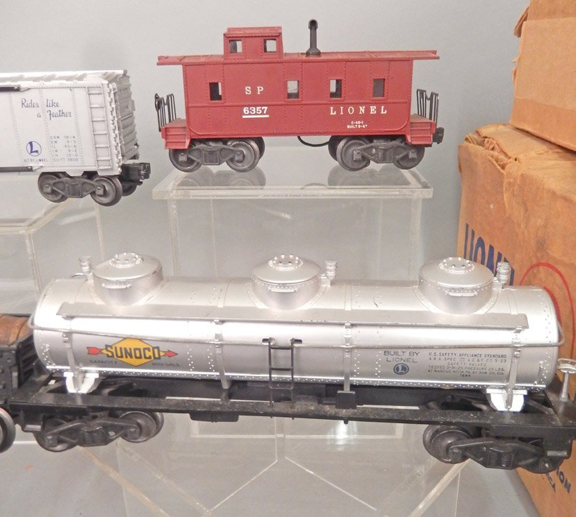Lionel postwar O27 gauge set 1505WS in boxes, freight - 4