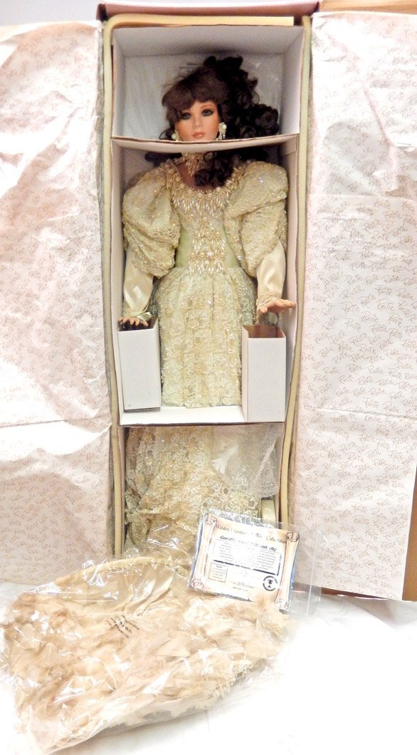 Large Hallie doll by Rustie, Weldon Museum, brand new