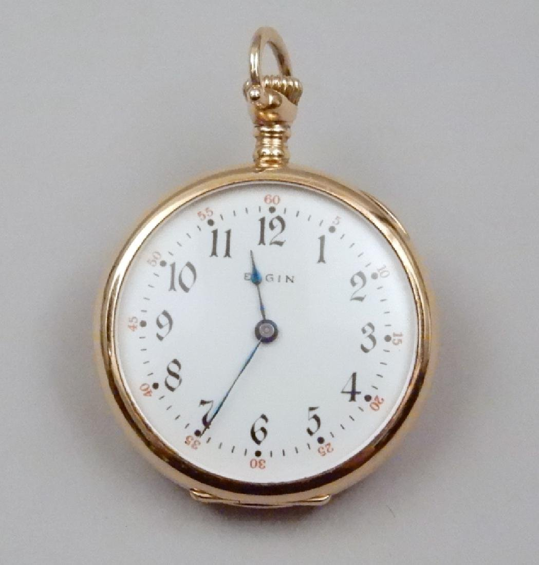 Elgin gold pocket watch