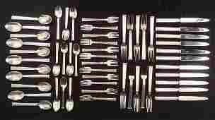Christofle Triade silver plated flatware set