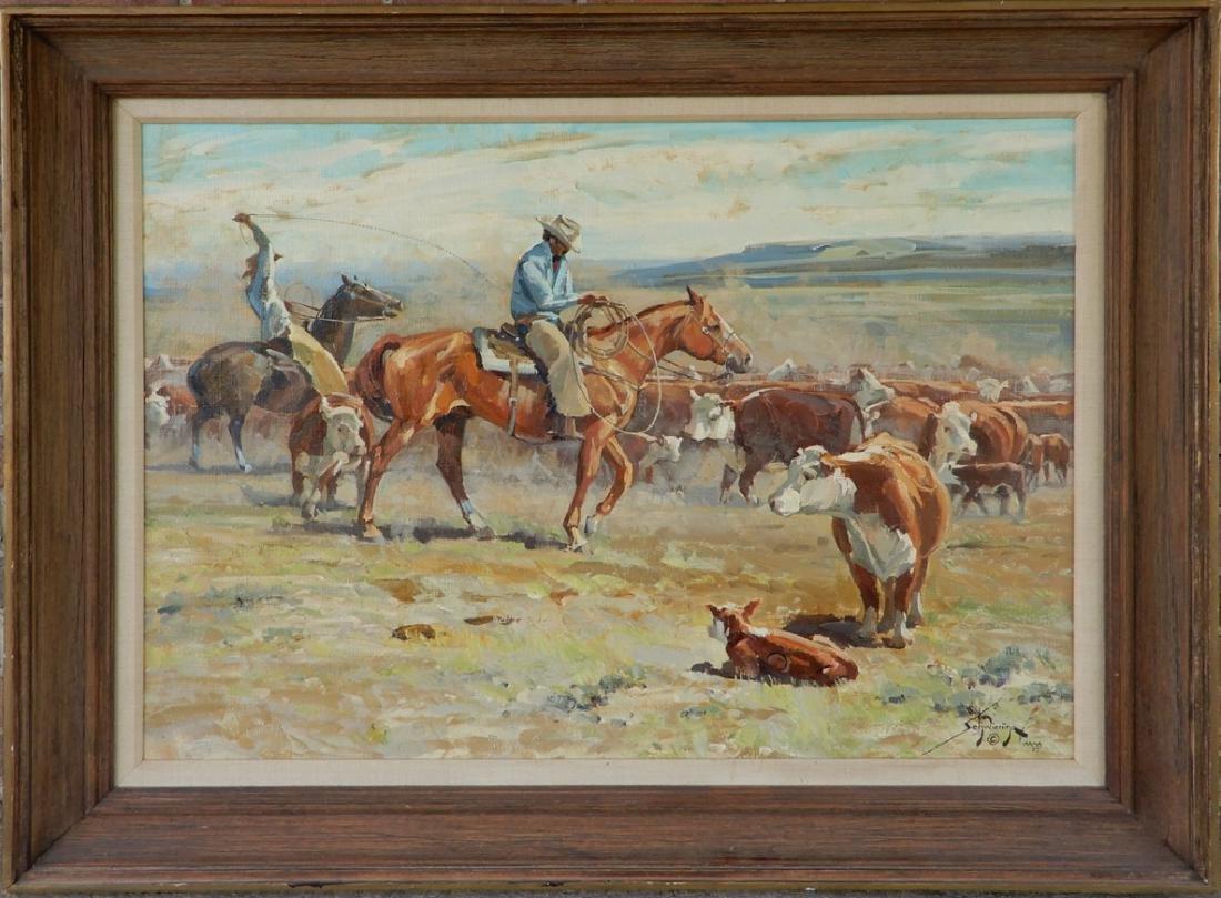 Conrad Schwiering oil on canvas