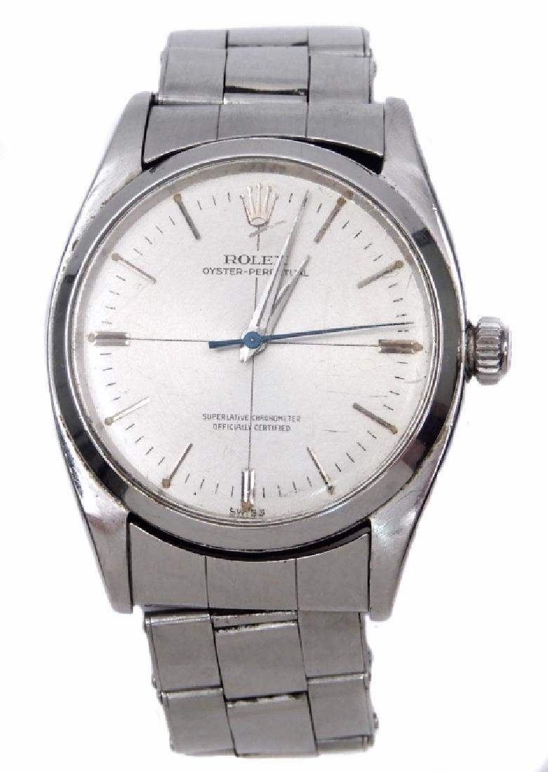Men's Rolex Oyster Perpetual wristwatch