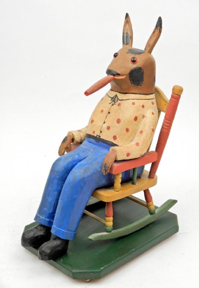Walter & June Gottshall contemporary folk art Rabbit