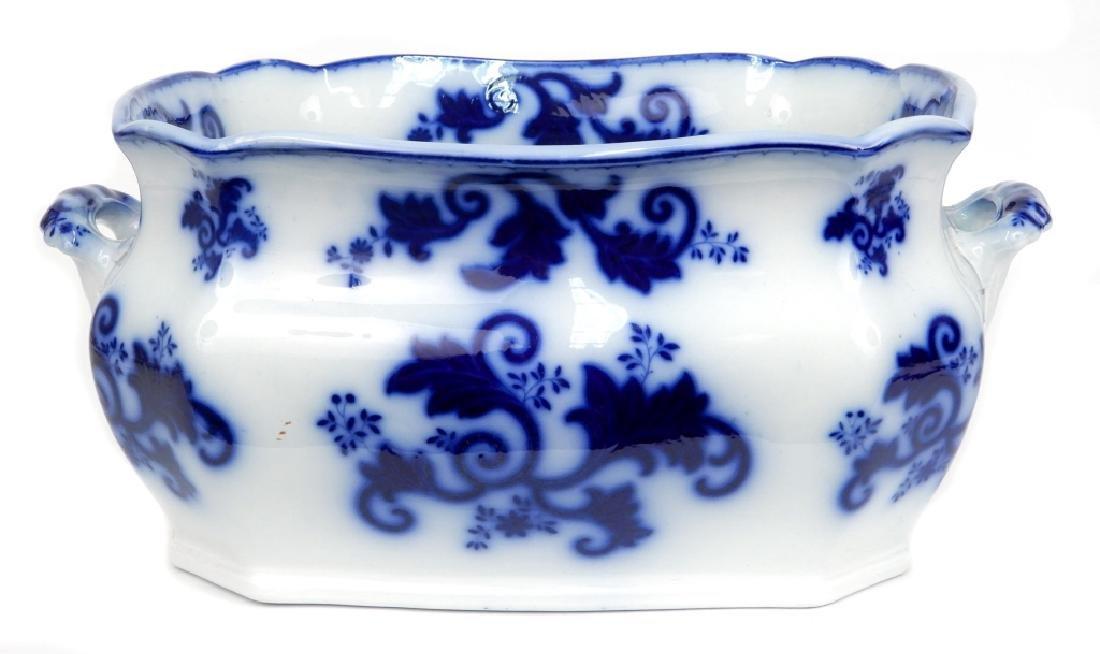 Flow Blue foot bath