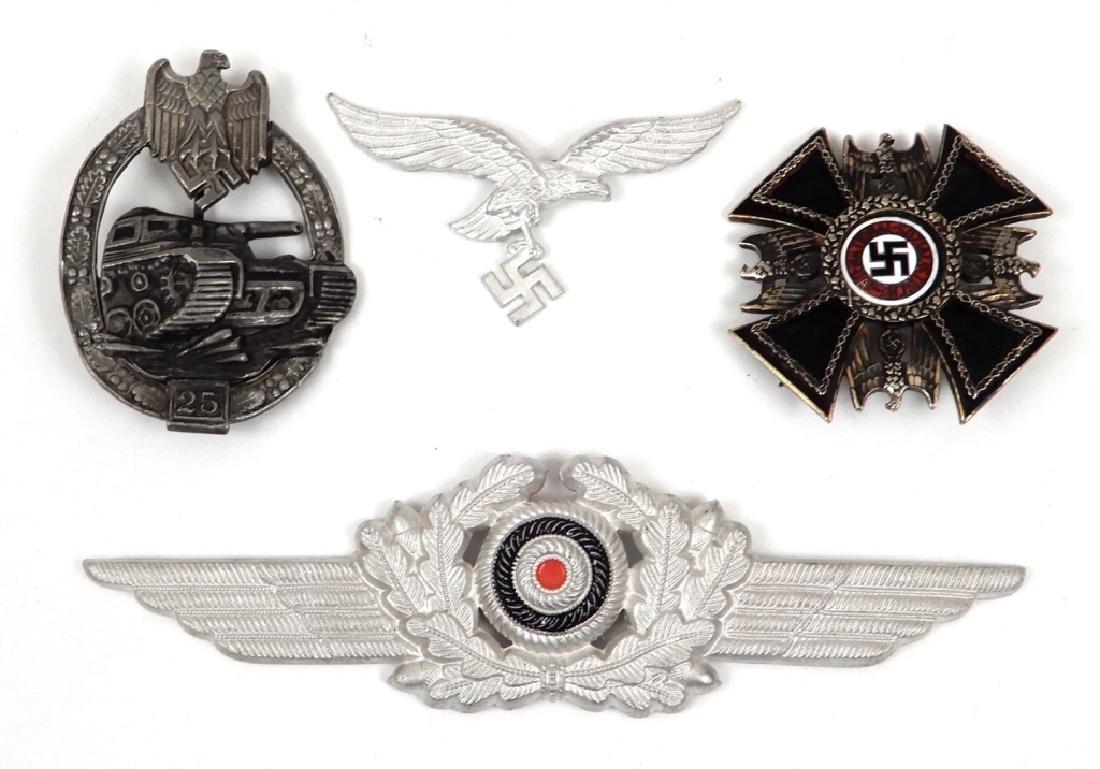 German badges and pins