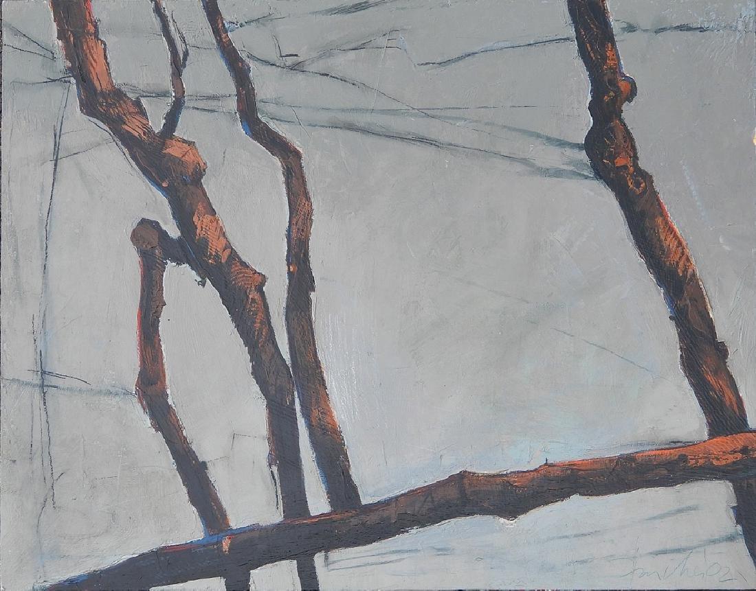 John Fincher oil on panel