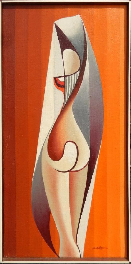 B. (Benjamin) Britt oil on canvas