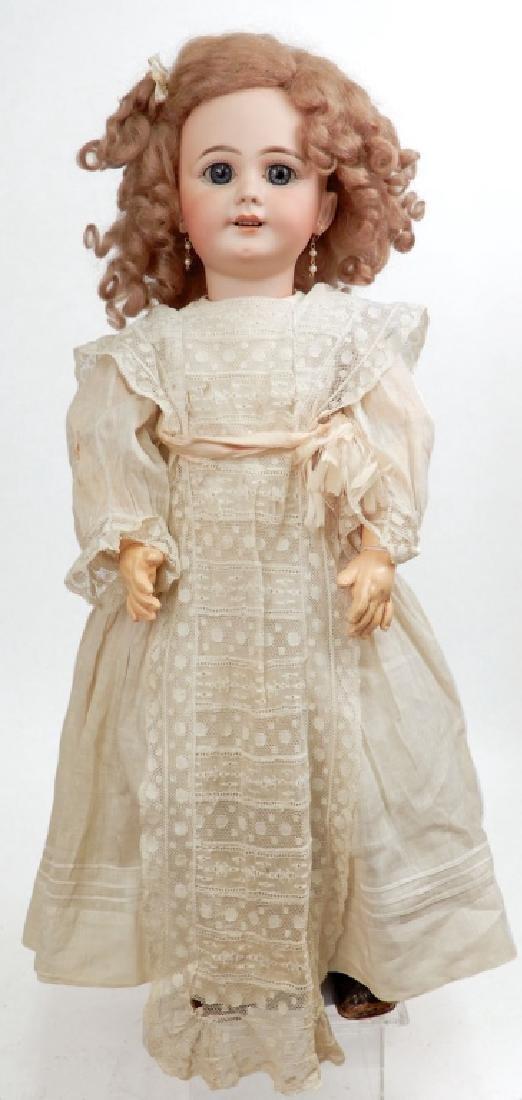 Antique bisque Jumeau doll