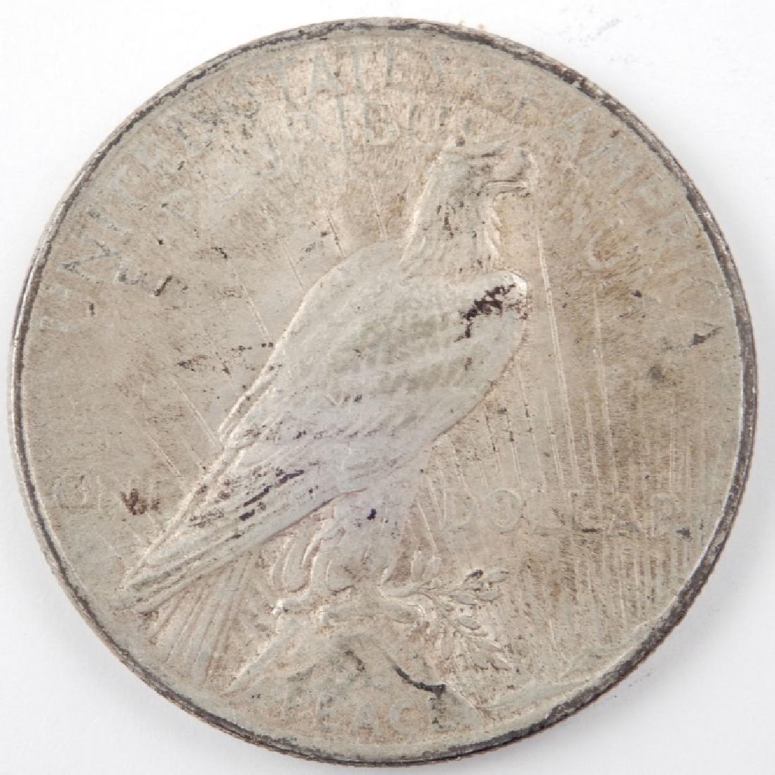 1924 Peace silver dollar - 2