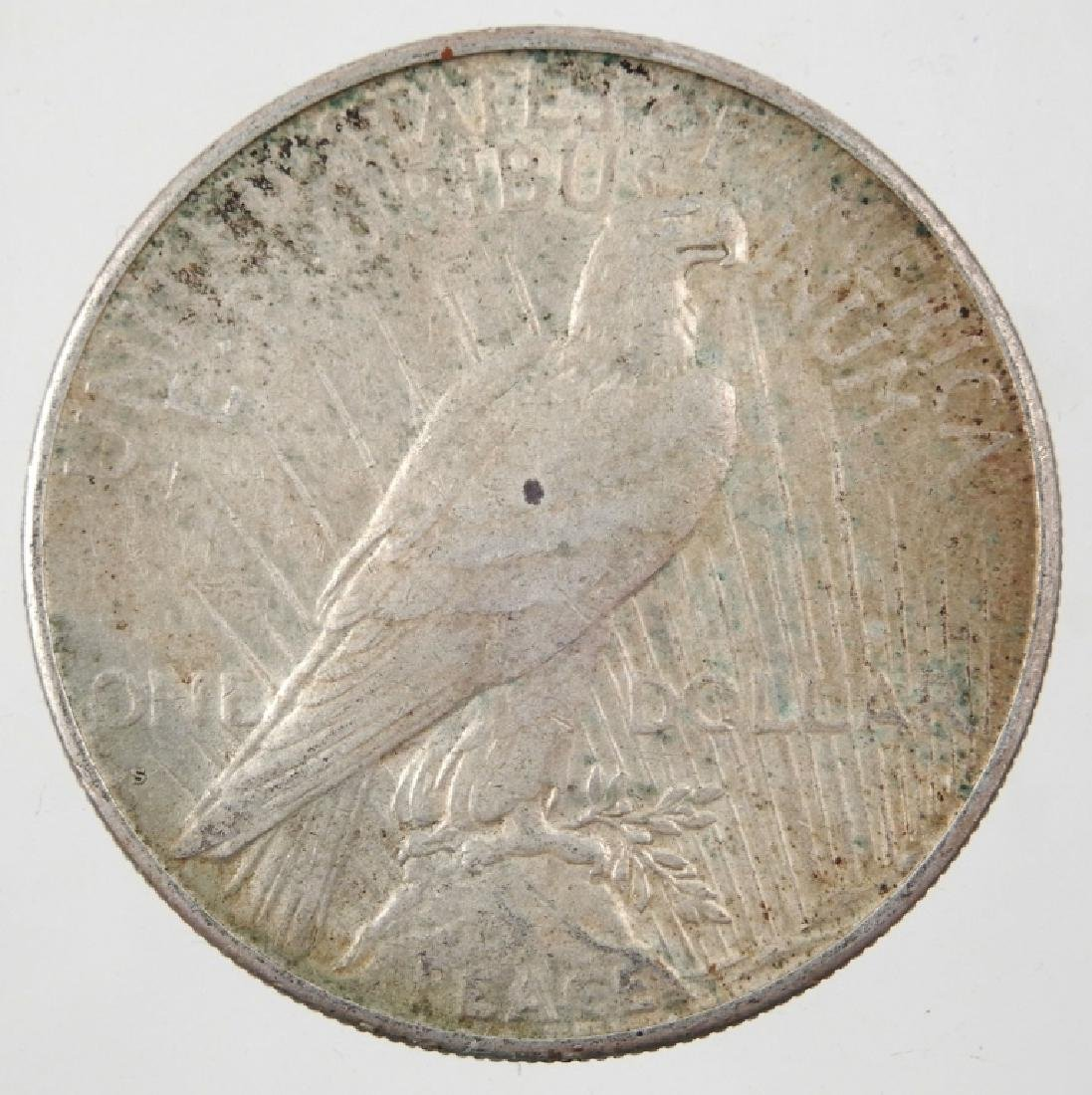 1926-S  Peace silver dollar - 2