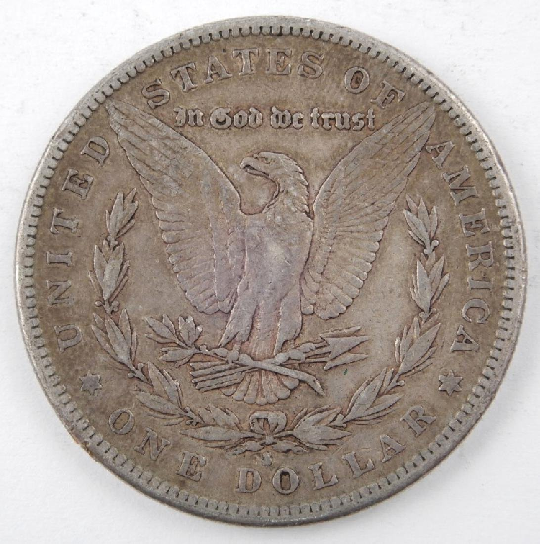 1882-S Morgan silver dollar - 2