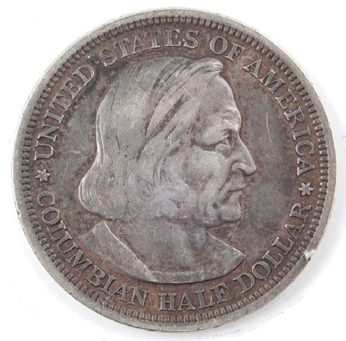 1893 Columbian Exposition Commemorative silver half