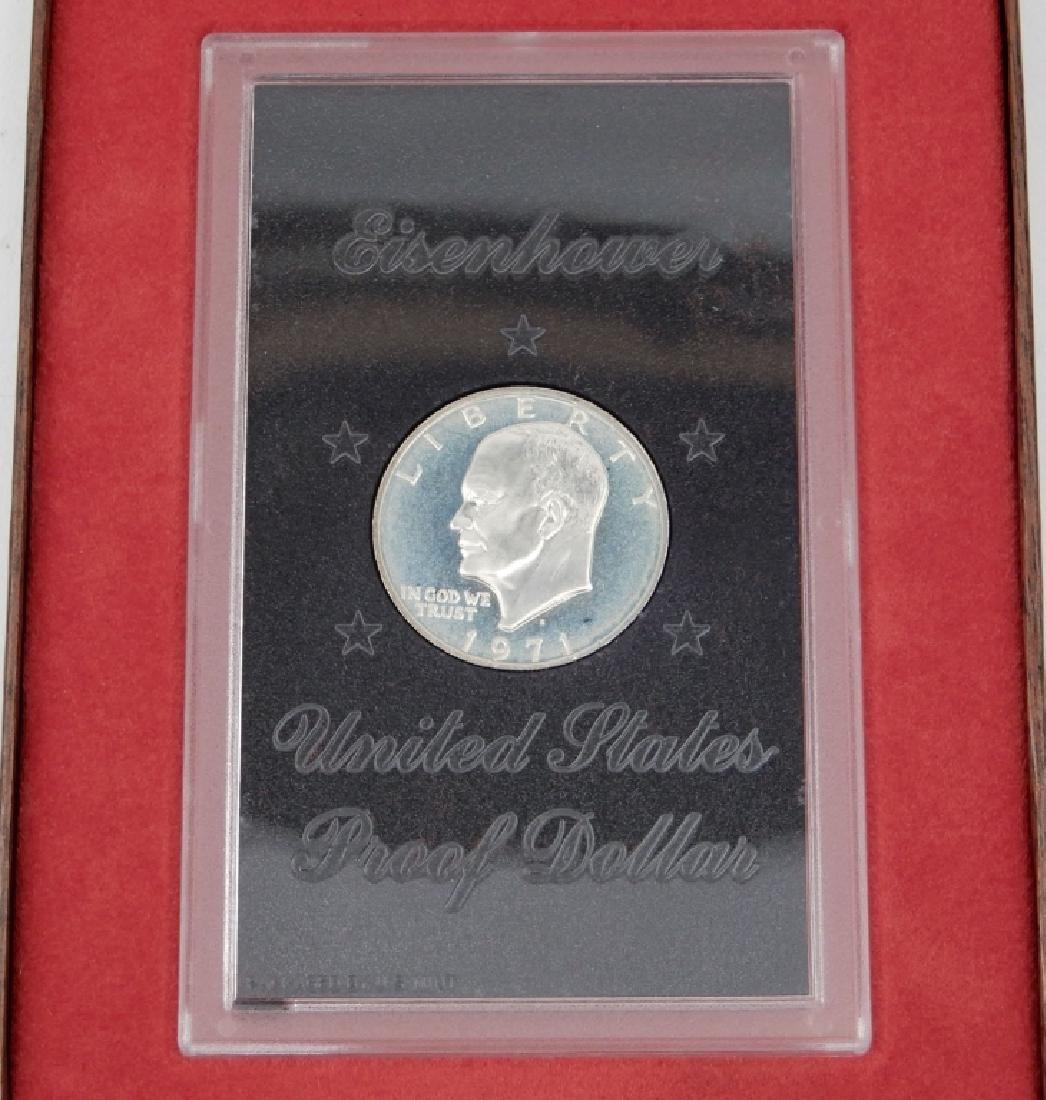 1971-S proof Ike silver dollar