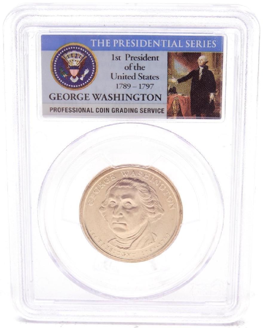 PCGS MS 65 Washington error dollar
