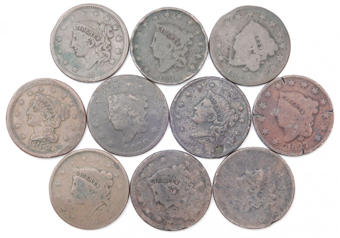 Grouping of large cents