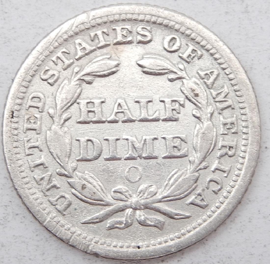 1855 Seated Liberty dime - 2