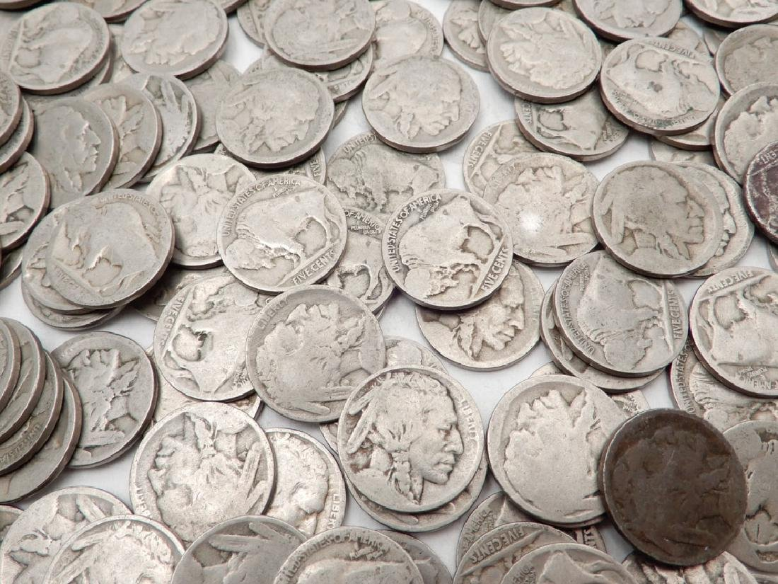 Four hundred mixed date Buffalo nickels - 2