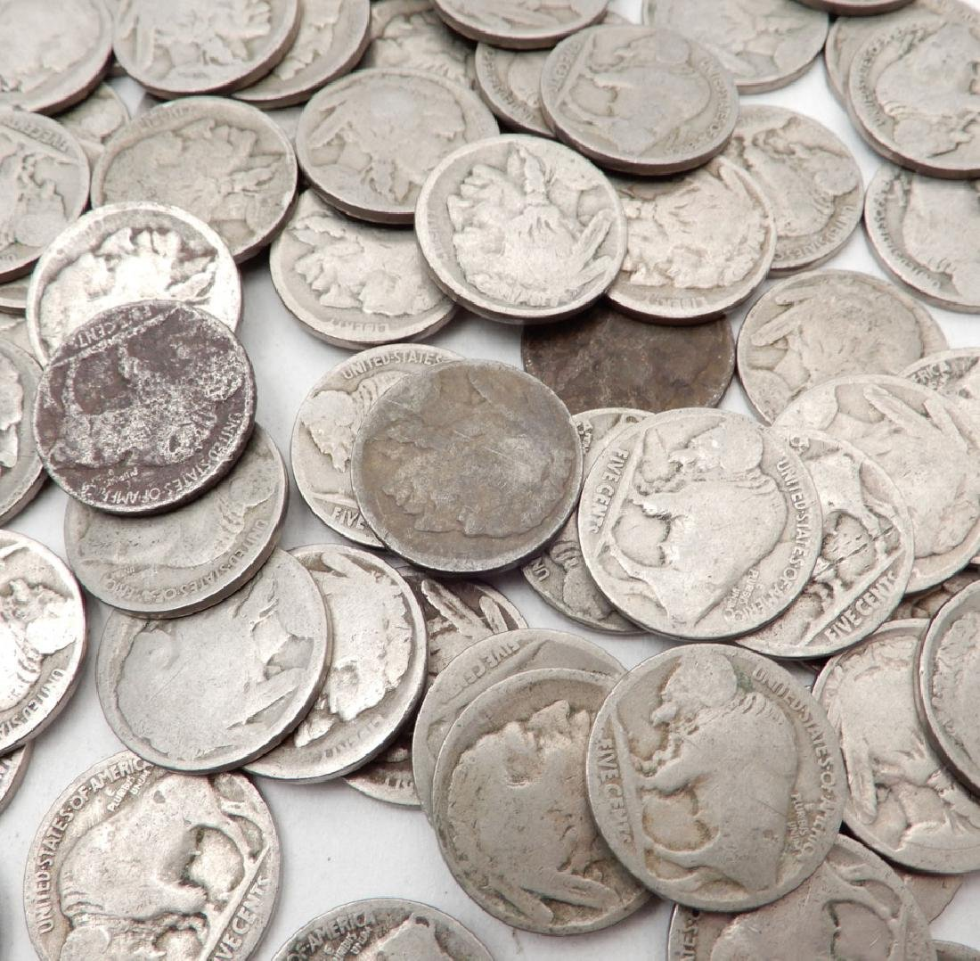 Four hundred mixed date Buffalo nickels - 3
