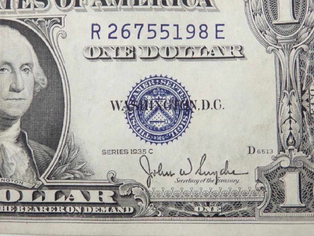 Twenty $1.00 silver certificates - 3