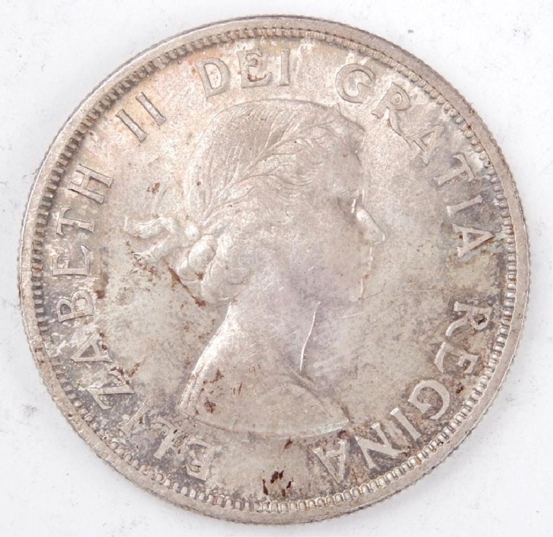 1858-1958 Canada Totem Pole silver dollar