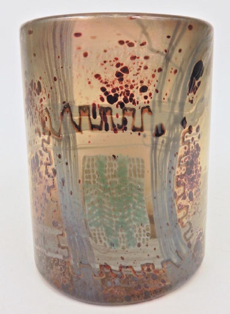 Dale Chihuly Blanket cylinder vase