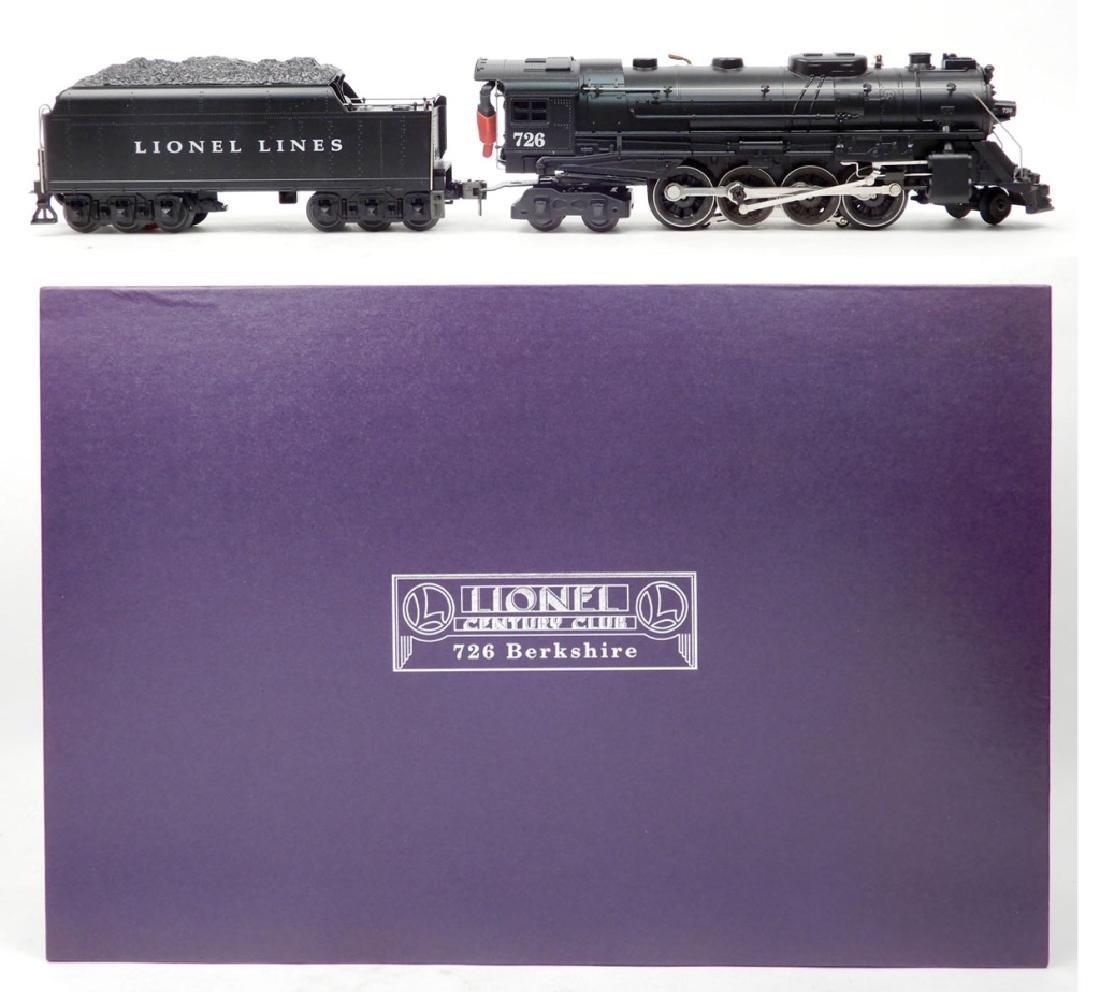 Lionel Century Club 726 Berkshire 2-8-4 steam loco
