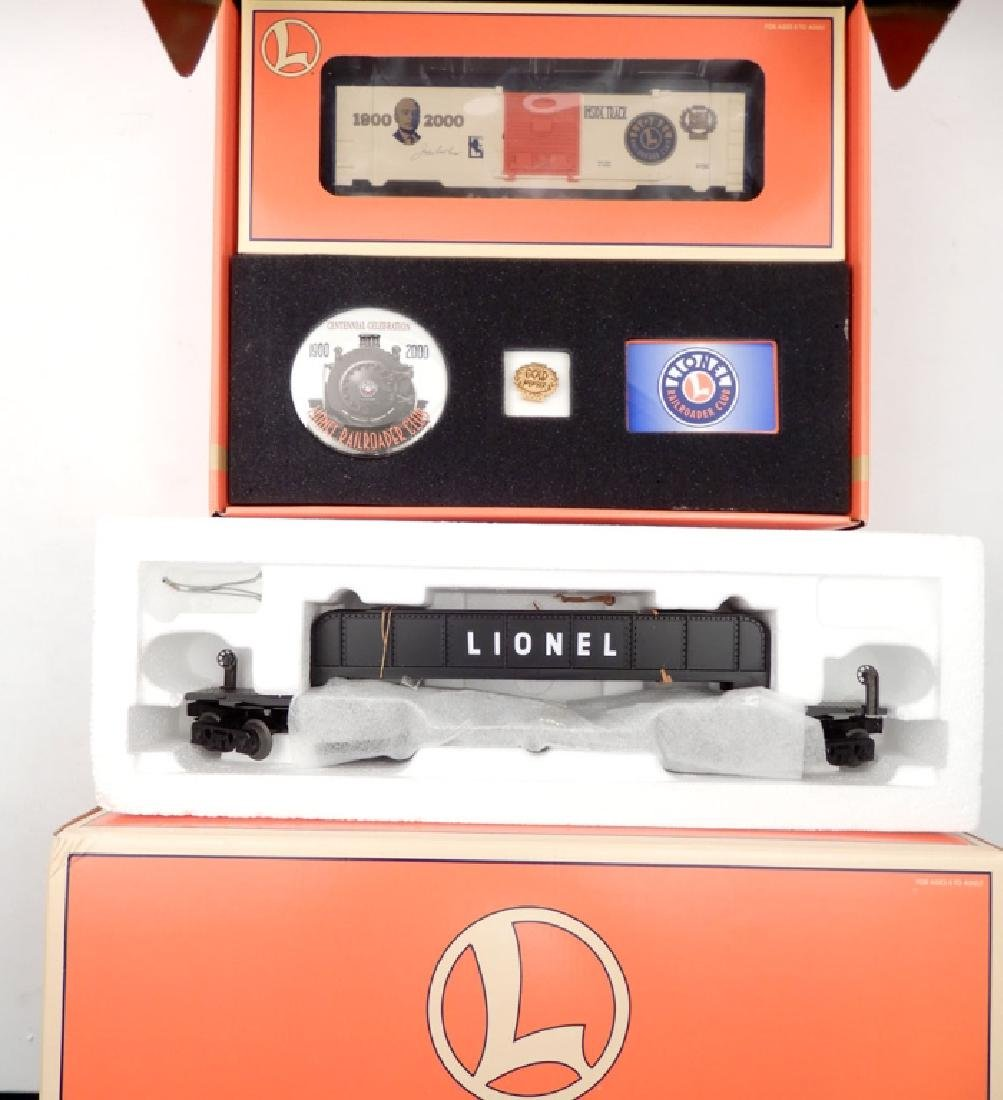 Two Lionel sets in boxes