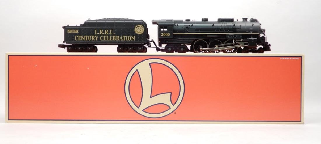 Lionel L.R.R.C. Hudson Traditional engine and tender