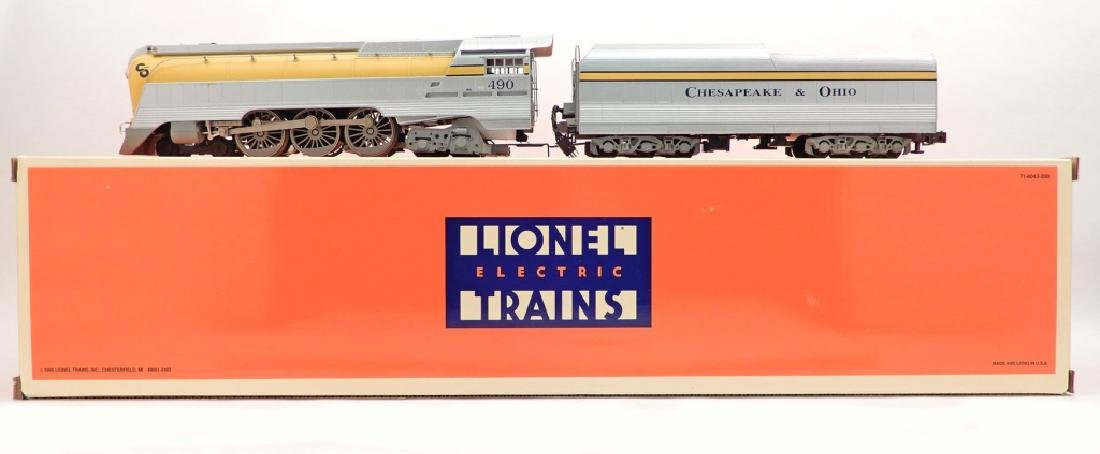 Lionel C&O semi-scale Streamline Hudson loco & tender