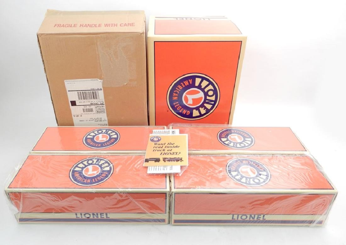 Lionel Set of 4 Phenolic Cast Reefer Cars in box