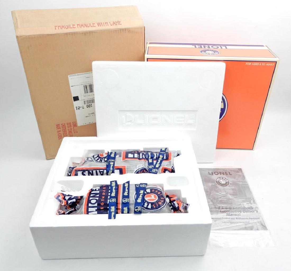 Lionel Camelback Loco CNJ Command 6-18089 in box