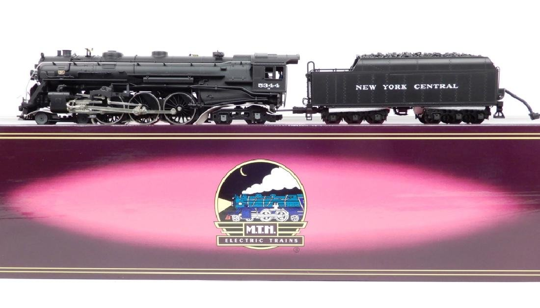 MTH New York Central J-1e Hudson steam locomotive in