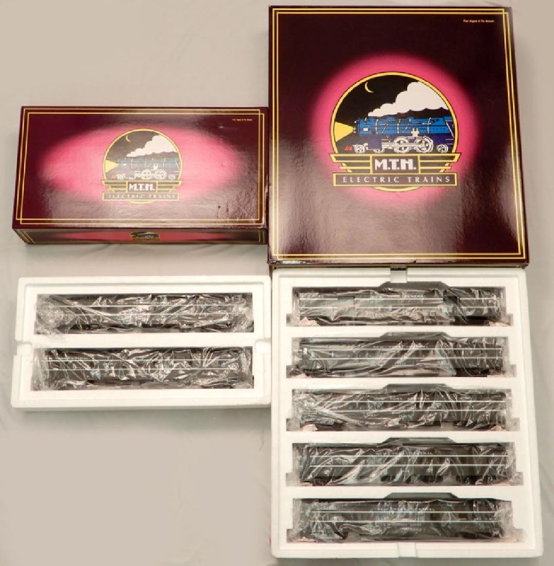 Two MTH 70' Scale Streamlined sets in boxes